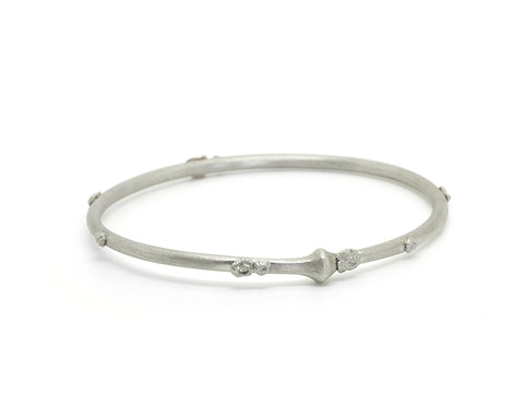 Cable Bangle-Hannah Blount Jewelry