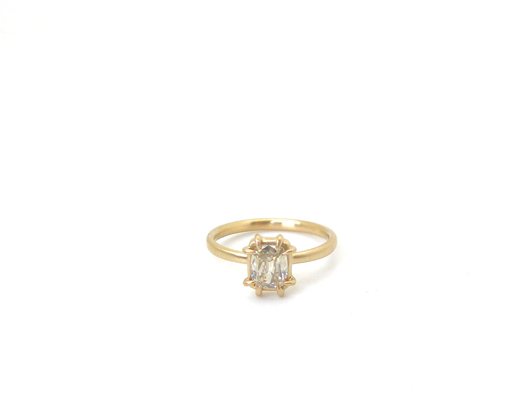 Old World Diamond Vanity Ring, 6.5-Hannah Blount Jewelry