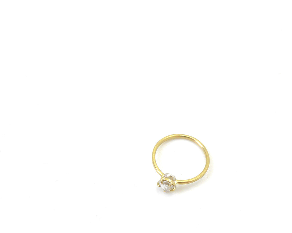 Through the Looking Glass Diamond Cameo Ring, 5.75-Hannah Blount Jewelry