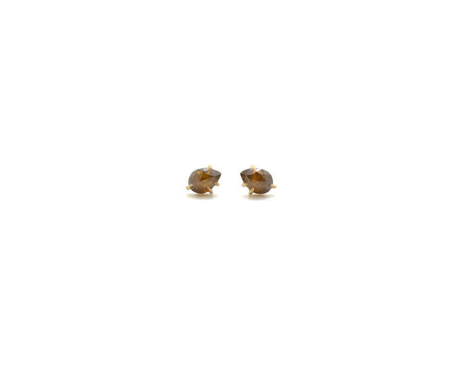 Autumn Diamond Vanity Studs-Hannah Blount Jewelry