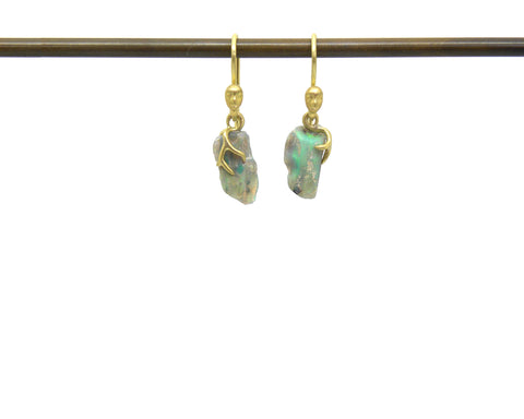 Kissiae Opal Ancients Earrings-Hannah Blount Jewelry
