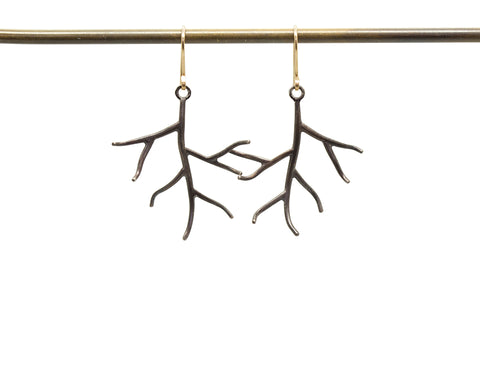 Little Branch Earrings-Hannah Blount Jewelry