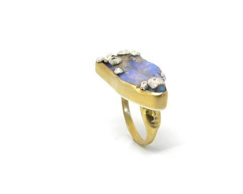 Melusine Opal Ancients Ring, 6.5-Hannah Blount Jewelry