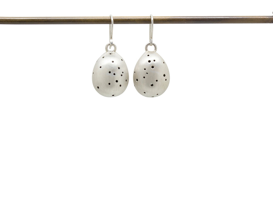 Speckled Egg Earrings-Hannah Blount Jewelry