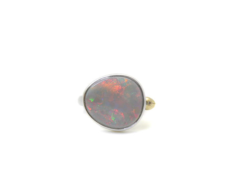 Wonderland Opal Cameo Ring-Hannah Blount Jewelry
