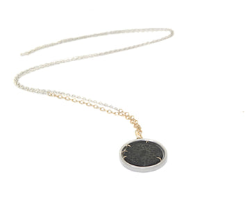 Ancient Medusa + Goddess Nike Coin Vanity Necklace