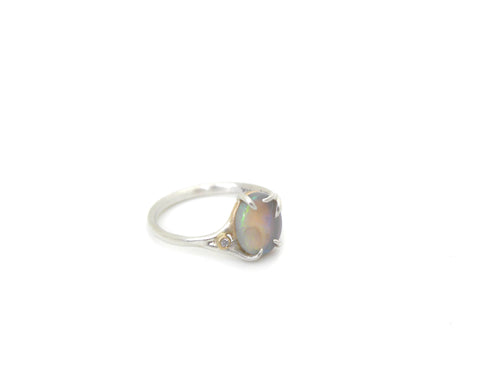 Aura Opal Branch Waiting Ring-Hannah Blount Jewelry