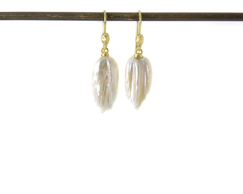 Birds of Prey Cameo Figurehead Earrings-Hannah Blount Jewelry