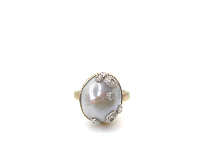 Coronation Pearl Ruthie B. Ring-Hannah Blount Jewelry