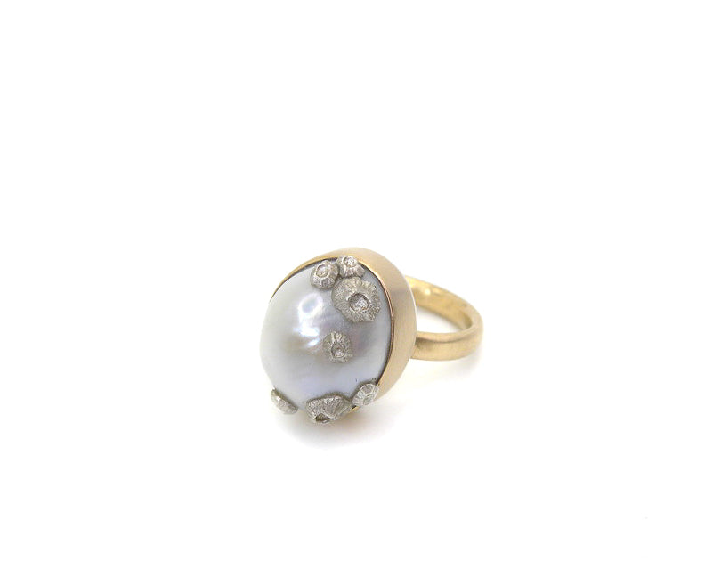 Coronation Pearl Ruthie B. Ring, 6.25-Hannah Blount Jewelry