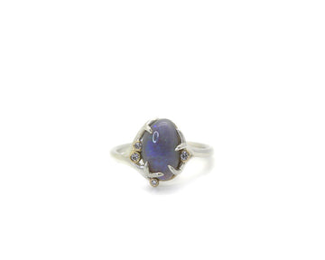 Violet Opal Waiting Ring-Hannah Blount Jewelry