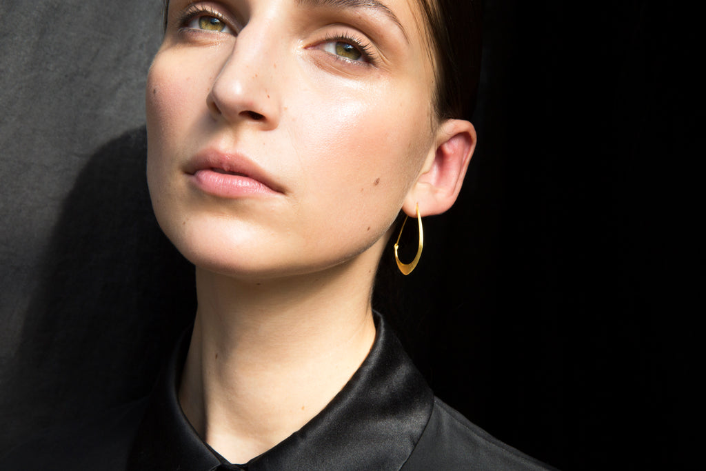 Little Facet Hoops-Hannah Blount Jewelry