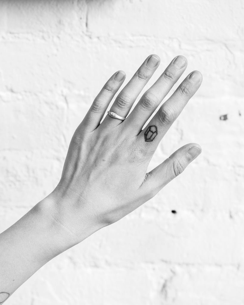 Little Grey Lady Cameo Ring-Hannah Blount Jewelry