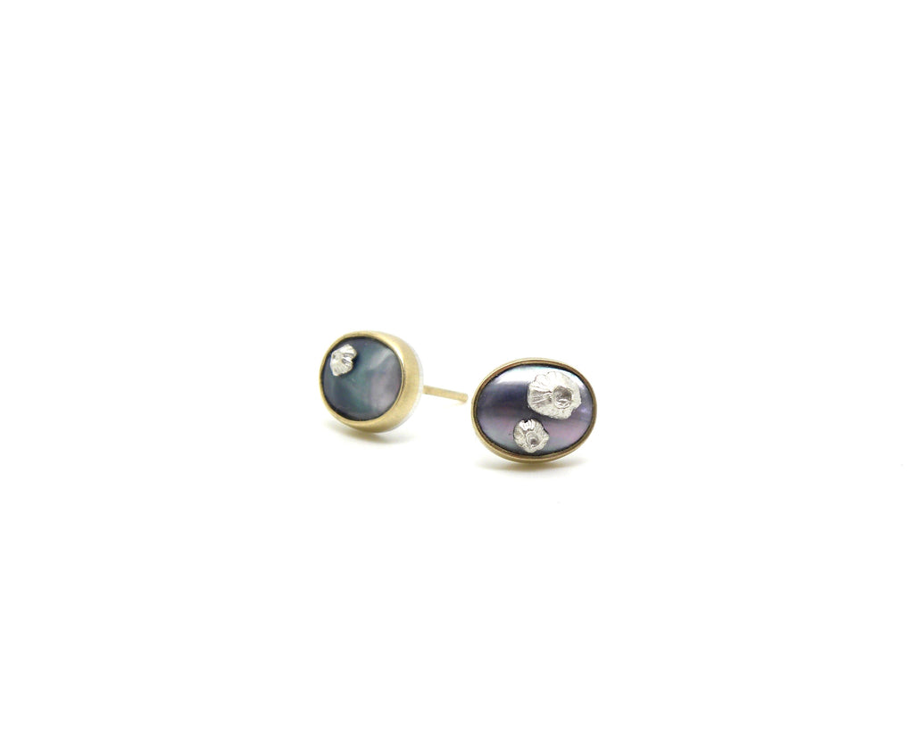Mabe Pearl Ruthie B. Studs-Hannah Blount Jewelry