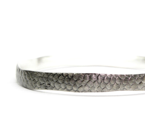 Fish Scale Bangle-Hannah Blount Jewelry