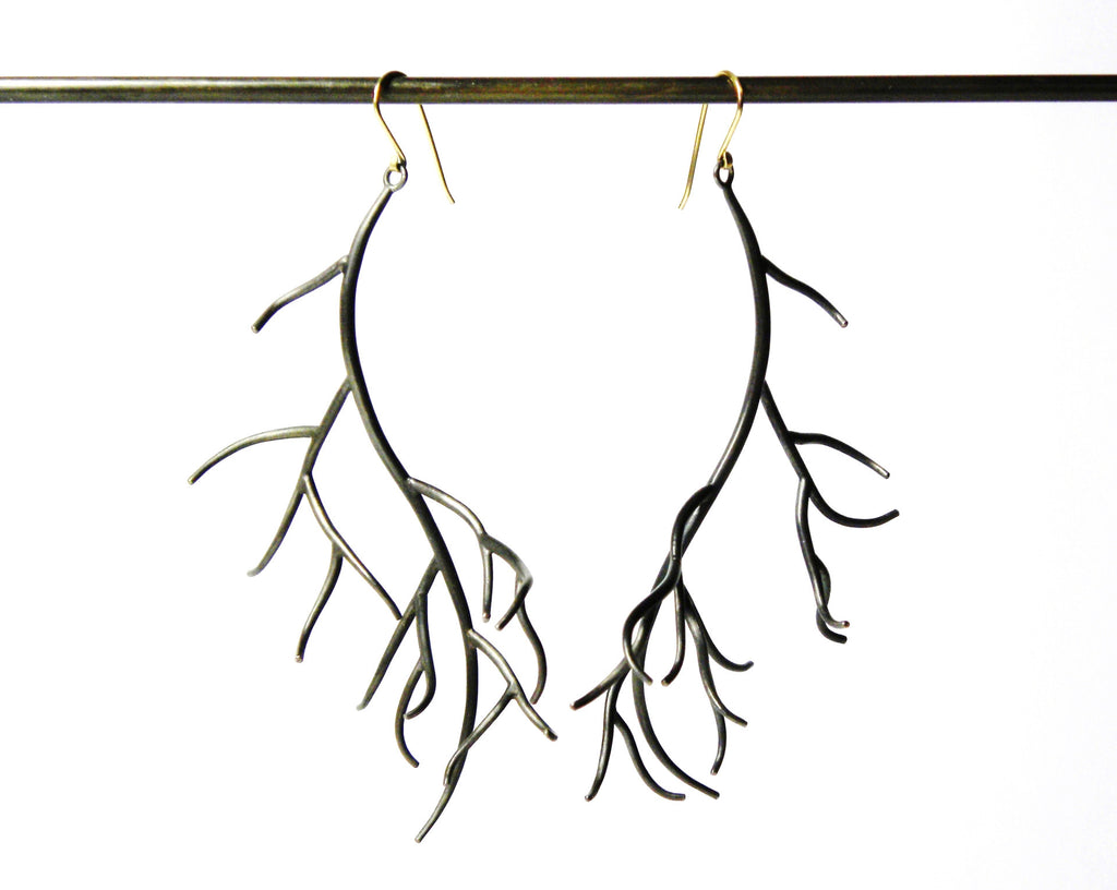 Grand Branch Earrings-Hannah Blount Jewelry