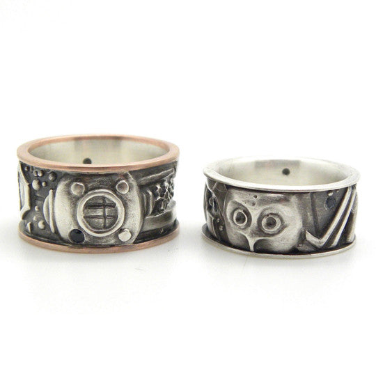 Custom Tattoo Wedding Bands-Hannah Blount Jewelry