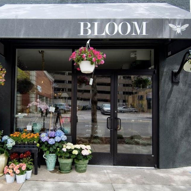 exterior shot of Bloom, a retail store in denver