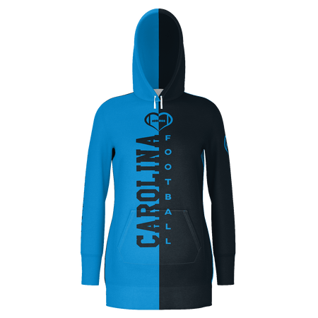 Carolina Football Hoodie Dress