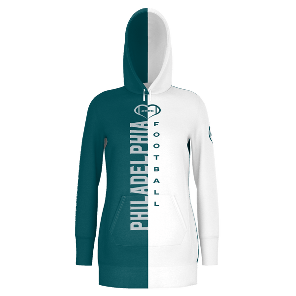 Philadelphia Football Hoodie Dress