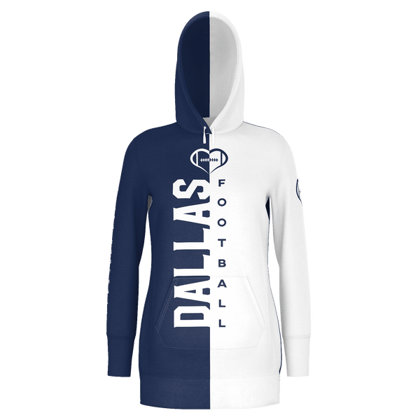 Dallas Football Hoodie Dress