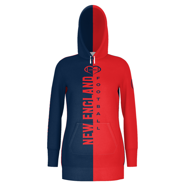 New England Football Hoodie Dress