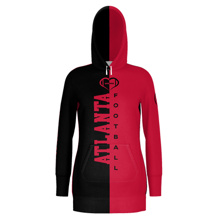 Atlanta Football Hoodie Dress