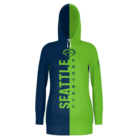 Seattle Football Hoodie Dress
