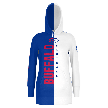 Buffalo Football Hoodie Dress