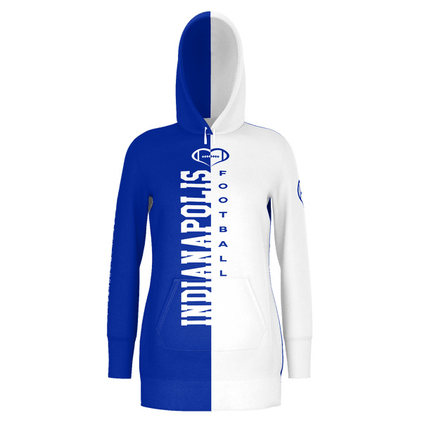 Indianapolis Football Hoodie Dress