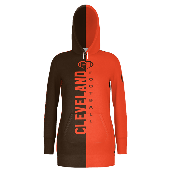 Cleveland Football Hoodie Dress