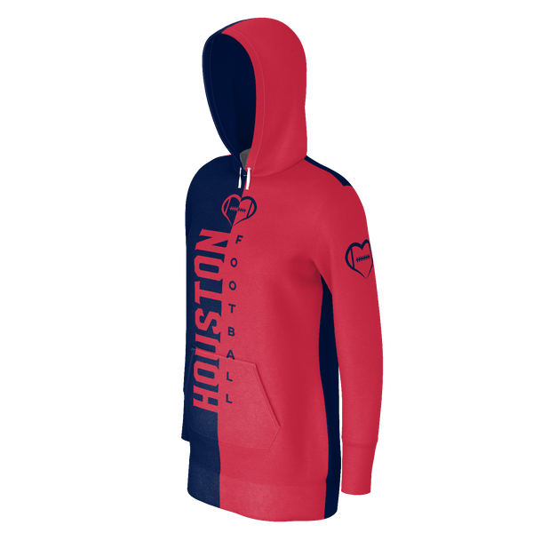 Houston Football Hoodie Dress