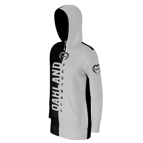 Oakland Football Hoodie Dress
