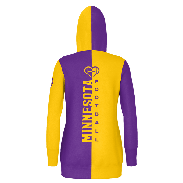 Minnesota Football Hoodie Dress