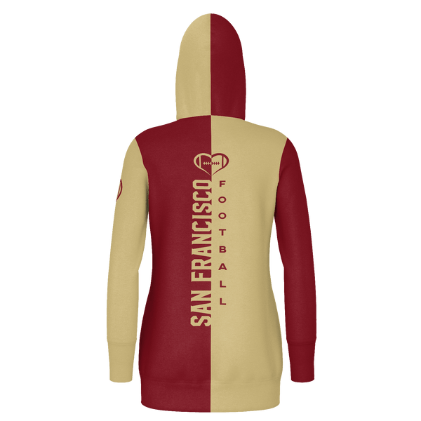 San Francisco Football Hoodie Dress
