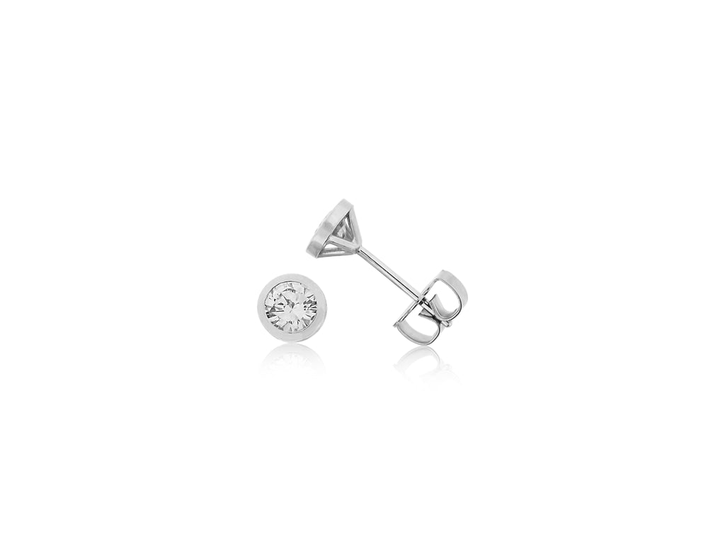Diamond Martini Earrings