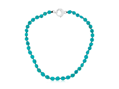 Arizona Turquoise Nugget Necklace