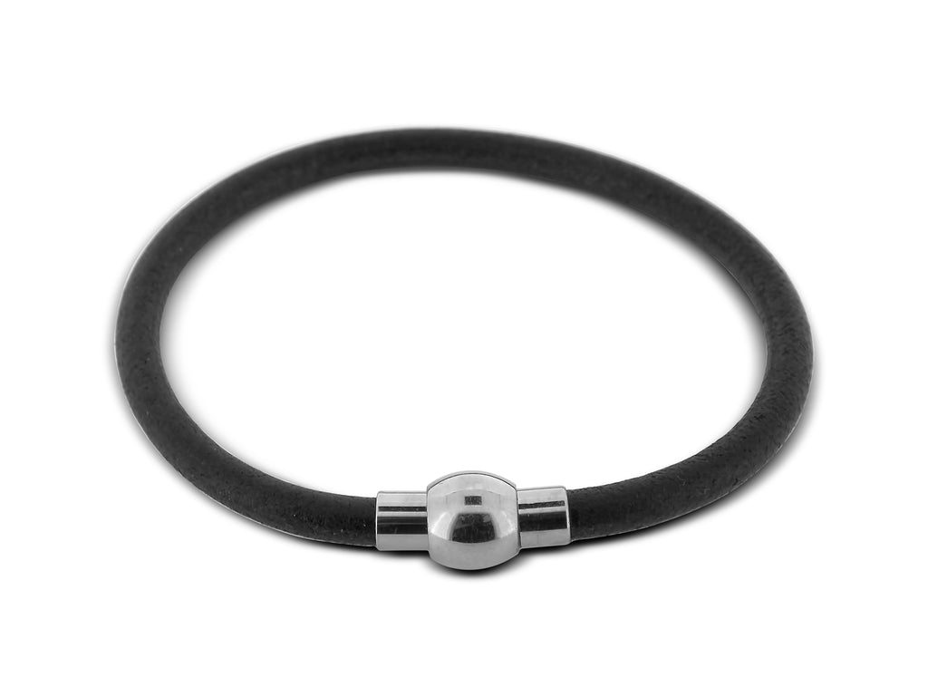 Narrow Leather Bracelet
