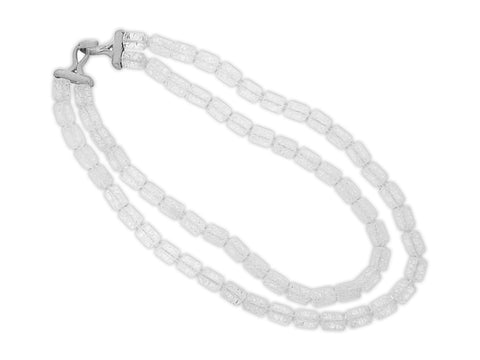 Quartz Double Strand Necklace