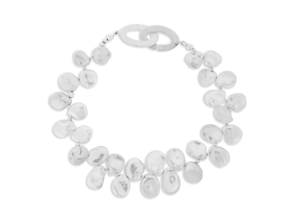Keshi Petal Pearl Necklace