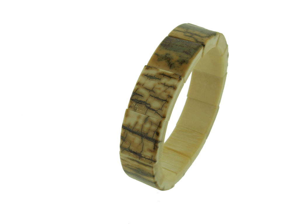 Woolly Mammoth Narrow Ivory Bracelet