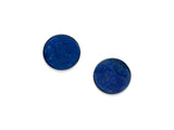 Natural Surface Lapis Earrings