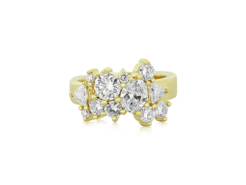 Scatter Ring with Heirloom Diamonds