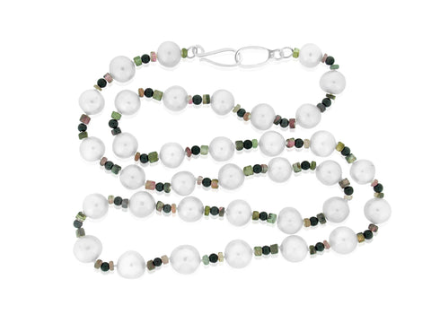 Pearl and Tourmaline Strand