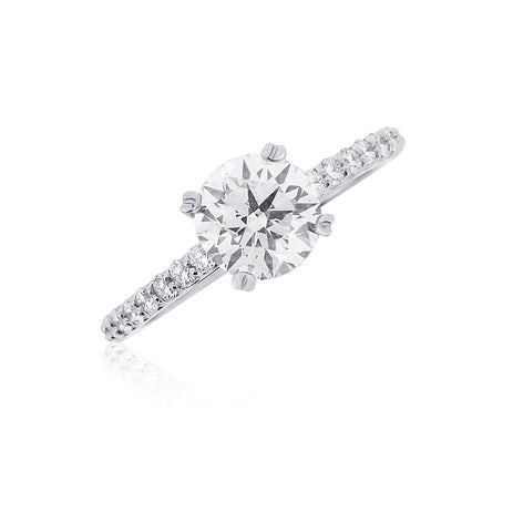 Classic Custom Engagement Ring