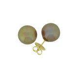 Bonze Pearl Earrings