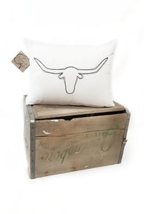 Longhorn Pillow