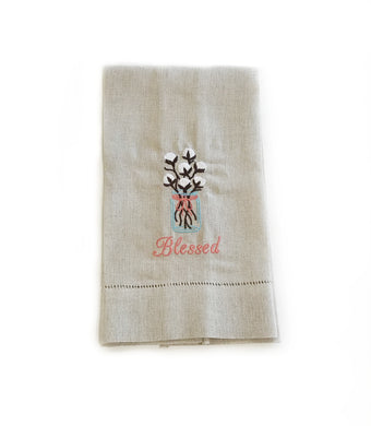 Cotton Pickin' Blessed Towel (T-SC-115)