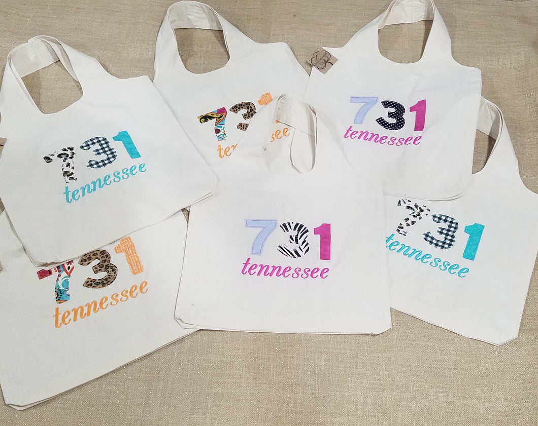 Area Code State Name Tote (C-LC-111)