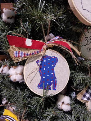 Rebel Farmhouse Christmas Ornament (F-SP-123)